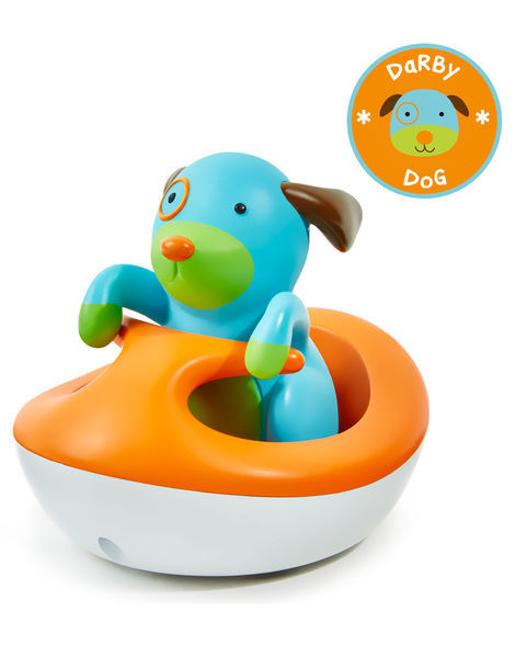 Skip Hop: Zoo Bath Rev-Up Wave Rider - Dog