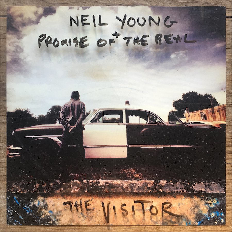 The Visitor (2LP) by Neil Young + Promise of the Real image