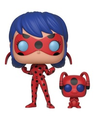 Miraculous - Ladybug with Tikki Pop! Vinyl Figure