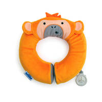 Yondi - Mylo Orange Monkey Travel Pillow
