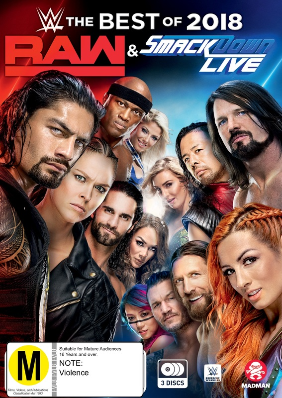 WWE: Best Of Raw & Smackdown 2018 on DVD