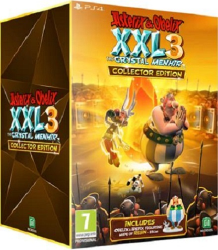 Asterix and Obelix XXL3 The Crystal Menhir Collector's Edition for PS4