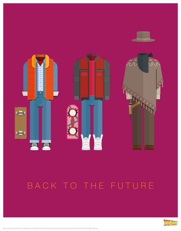 Back to the Future: Premium Art Print - Fred Birchal