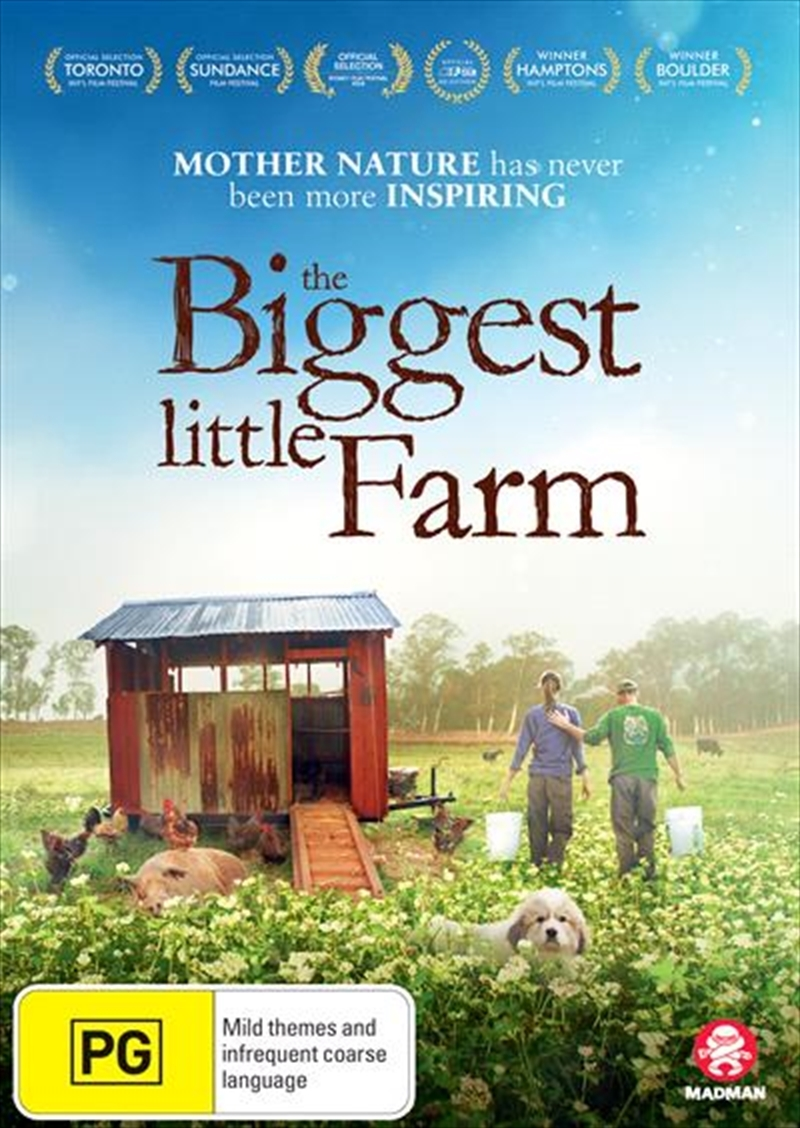 The Biggest Little Farm on DVD image