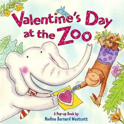 Valentines Day at the Zoo A P by Nadine Bernard Westcott image