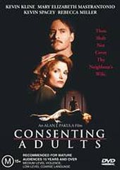 Consenting Adults on DVD