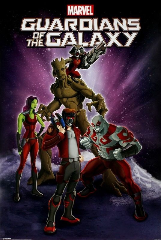 Guardians Of The Galaxy: Maxi Poster - Group (482)