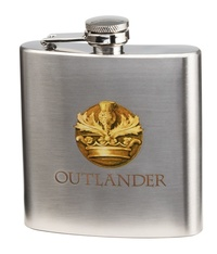 Outlander: Stainless Steel Flask (6oz.)