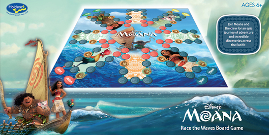Moana Ride the Waves Game