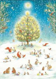 Woodland Christmas Advent Calendar by ,Watts Bernadette