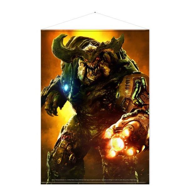 Doom: Wallscroll - Cyber Demon