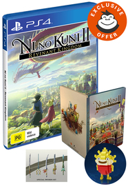 Ni no Kuni II: Revenant Kingdom Steelbook Edition for PS4