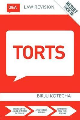 Q&A Torts by Birju Kotecha image