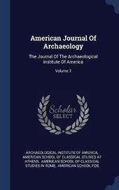 American Journal of Archaeology image