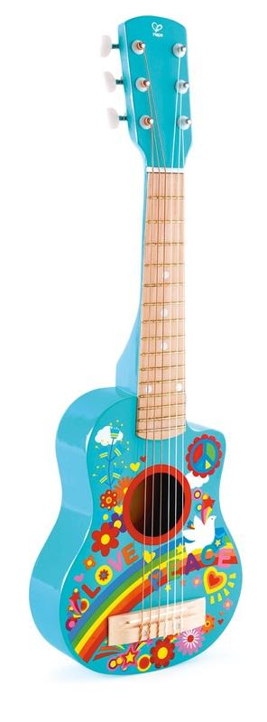 Hape: Flower Power Children's Guitar