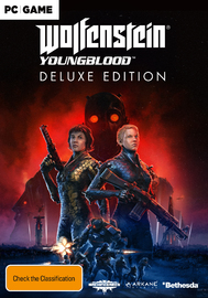 Wolfenstein Youngblood Deluxe Edition (code in box) for PC