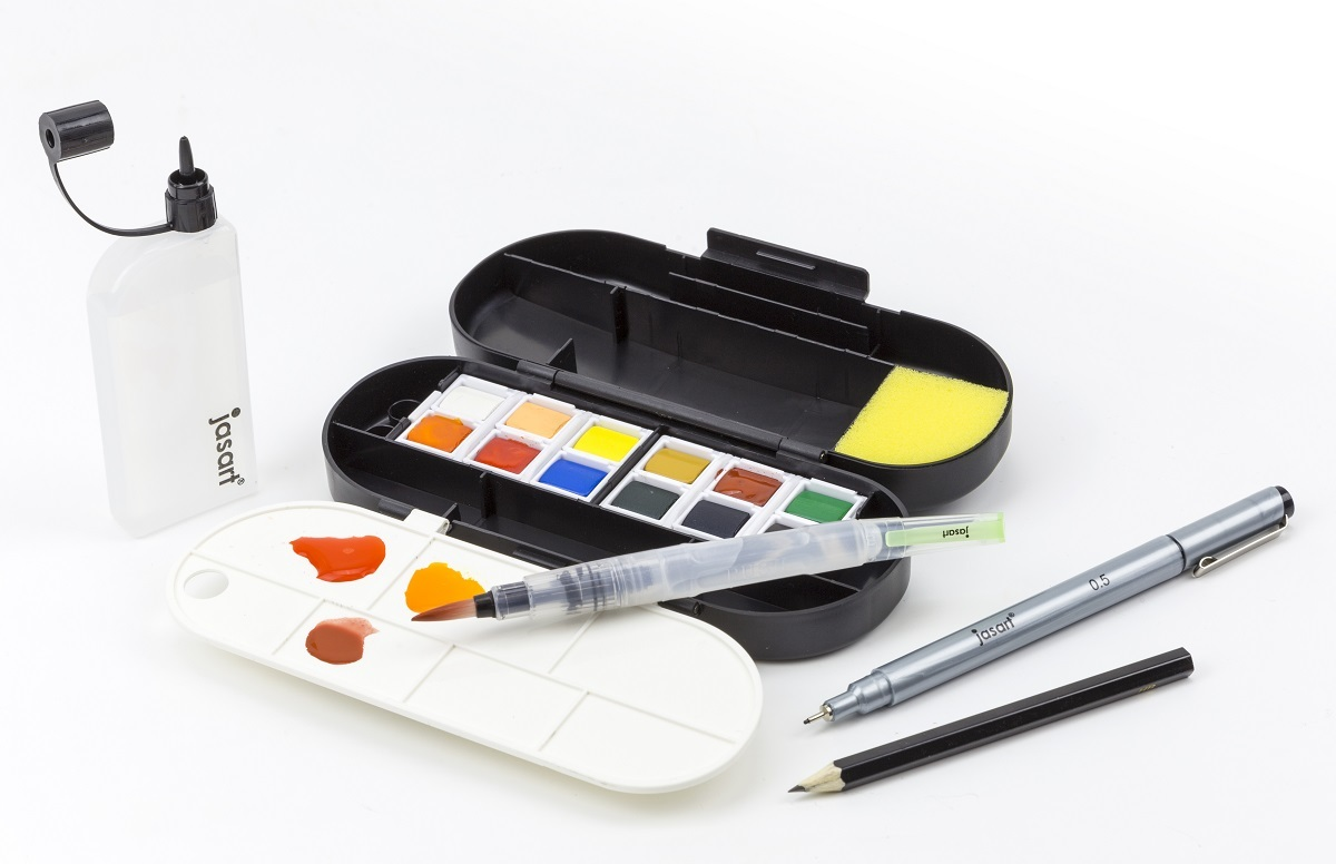 Jasart: Voyager Watercolour Ultimate Travel Set image