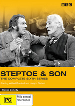Steptoe & Son - The Complete 6th Series (2 Disc Set) on DVD