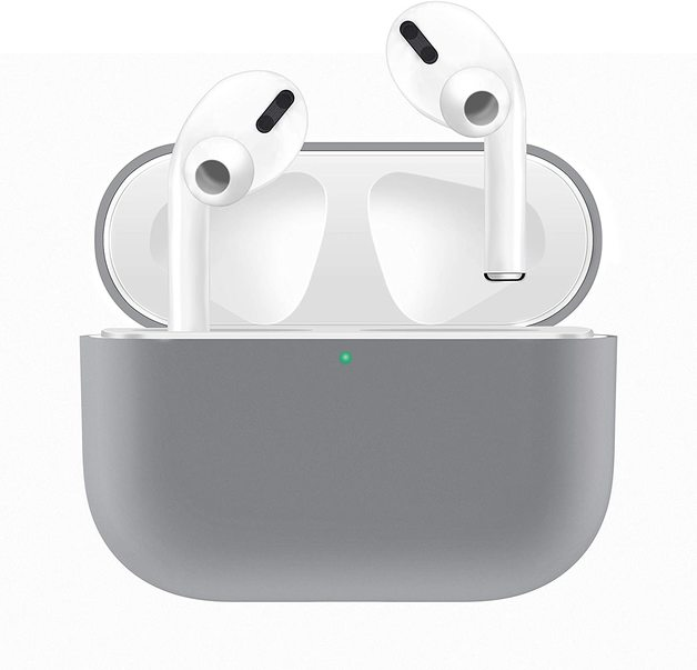 Airpods Pro Silicone Slim Light Protective Cover - Grey