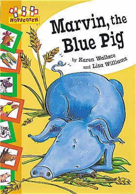 Marvin the Blue Pig by Karen Wallace image