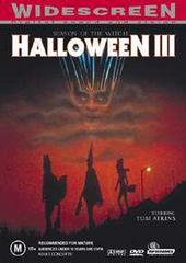 Halloween 3 - Season Of The Witch on DVD