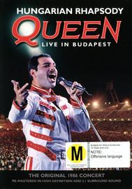 Queen: Hungarian Rhapsody on DVD