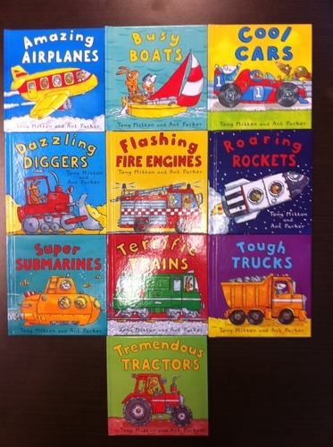 Amazing Machines: Truckload of Fun Boxed Set (10 books) by Tony Mitton image