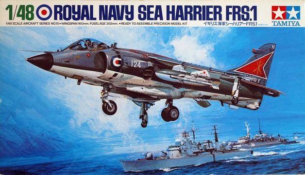 Tamiya British Royal Navy Sea Harrier FRS.1 1/48 Aircraft Model Kit