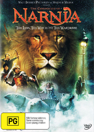 Chronicles of Narnia: The Lion, The Witch and The Wardrobe (1 Disc) on DVD image