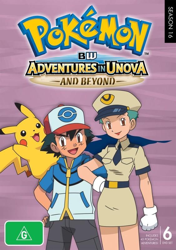 Pokemon Black & White: Adventures In Unova And Beyond - Season 16 on DVD