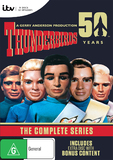 Thunderbirds - 50th Anniversary Edition (9 Disc Set) DVD