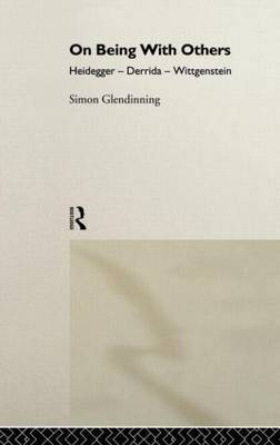 On Being With Others by Simon Glendinning
