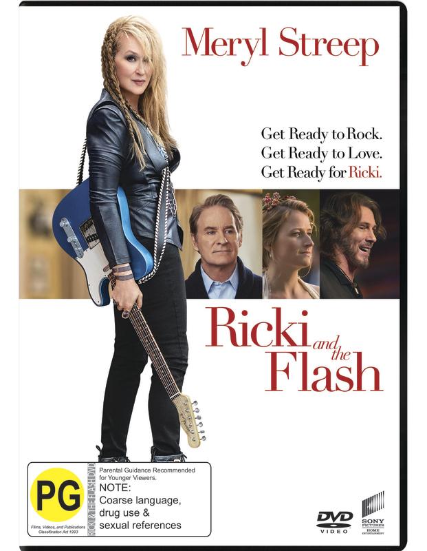 Ricki and the Flash on DVD
