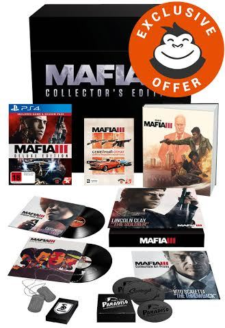 Mafia III Collector's Edition for PS4