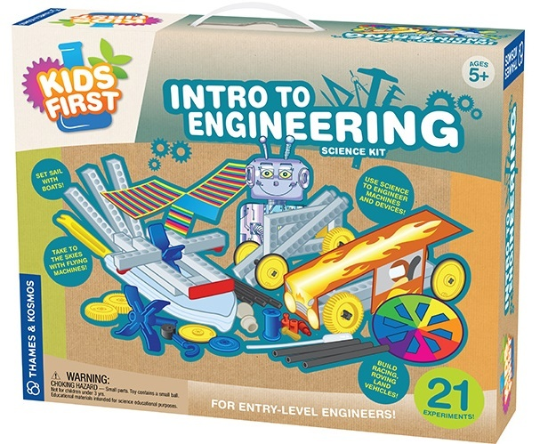 Thames & Kosmos: Kids First Intro to Engineering Science Kit