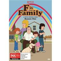 F Is For Family : Season One on DVD