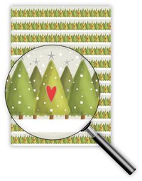 Quire: Tree Heart - Gift Wrap