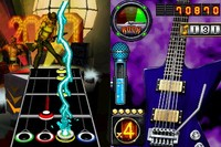 Guitar Hero: On Tour Decades Bundle (Game, Guitar grip) for Nintendo DS image