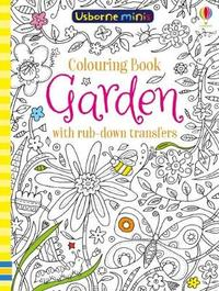Colouring Book Garden with Rub Down Transfers x5 by Sam Smith