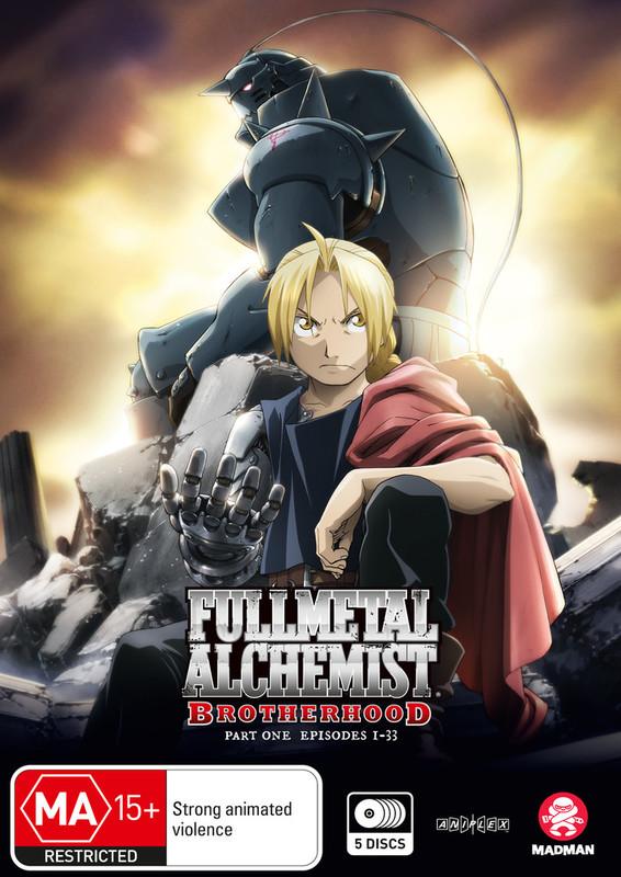 Fullmetal Alchemist: Brotherhood - Part 1 (Eps 1-33) on DVD