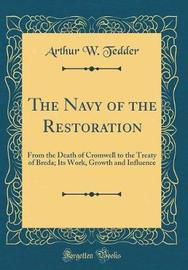 The Navy of the Restoration by Arthur W. Tedder image