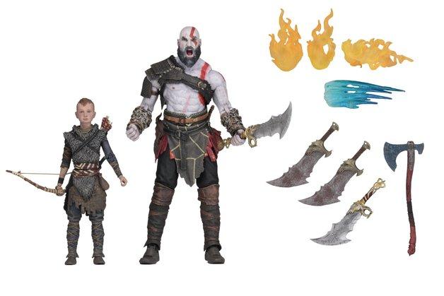"""God of War: Kratos & Atreus - 7"""" Action Figure 2-pack"""