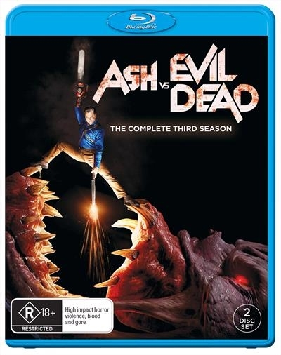 Ash V Evil Dead: Season 3 on Blu-ray