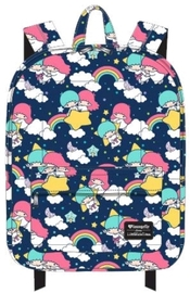 Loungefly: Hello Kitty - Rainbow Clouds Print Backpack