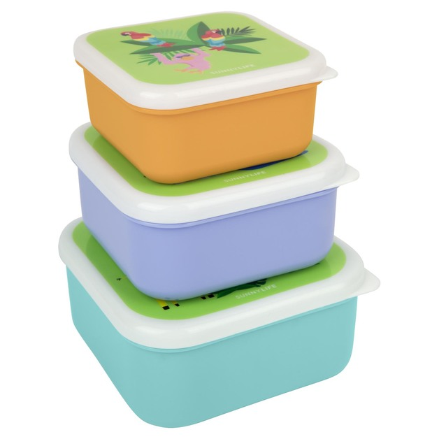 Sunnylife: Kids Nested Containers - Safari (Set of 3)