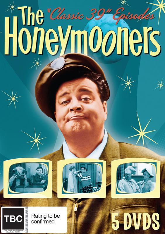 "The Honeymooners ""Classic 39"" Episodes on DVD"
