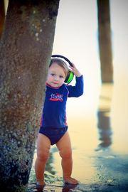 Banz Carewear: Baby Earmuffs - Lime Green (0-2 years)