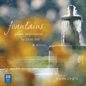 Fountains - Piano impressions by Debussy and Ravel  by John Chen