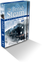 British Steam Collection, The - 2000, 2001 And 2002 (3 Disc Box Set) on DVD