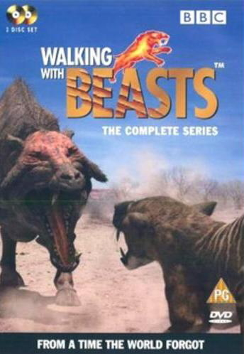Walking With Beasts (2 Disc Set) on DVD